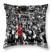 The Last Shot 1 Throw Pillow