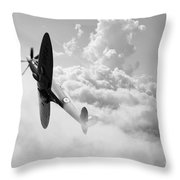 The Last Spitfire Throw Pillow