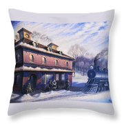 The Last Station Throw Pillow