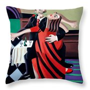 The Last Tango Throw Pillow