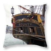 The Late Great Bounty Throw Pillow