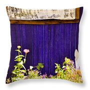 The Lavender Throw Pillow