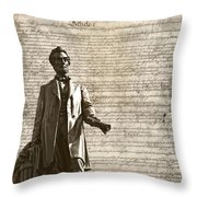 The Law Throw Pillow