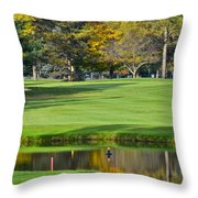 The Layup Throw Pillow