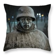 The Lead Scout Throw Pillow