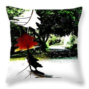 The Leaves Will Soon Start To Fall  Throw Pillow