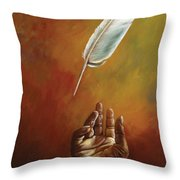 The Legacy Of Icarus Throw Pillow