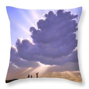 The Legend Of Bagger Vance Throw Pillow by Jerry LoFaro
