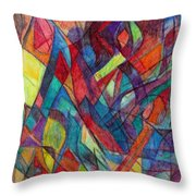 The Letter Alef 3 Throw Pillow