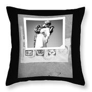 The Letter Home Throw Pillow