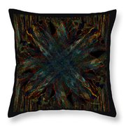 The Letter X Throw Pillow