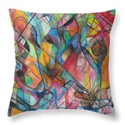 The Letter Yud 2 Throw Pillow
