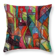 The Letter Zayin Throw Pillow