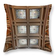 The Library Of Congress Throw Pillow