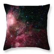 The Life And Death Of Stars Throw Pillow