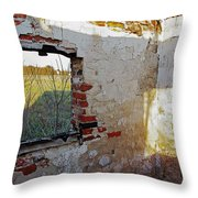 The Light Knows Not Throw Pillow