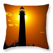 The Light Of Cape May Throw Pillow