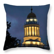The Light Of Higher Learning Throw Pillow