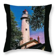 The Light Of Hope... Throw Pillow