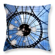 The Light Of Justice Throw Pillow