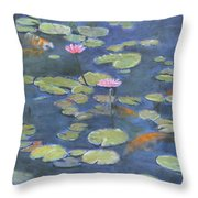 The Light Of My Eyes Original For Sale Throw Pillow