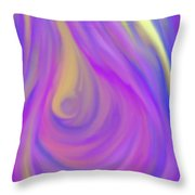 The Light Of The Feminine Ray Throw Pillow by Daina White