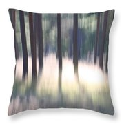 The Light Of The Forest Throw Pillow