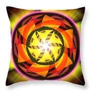 The Light Of Zen Throw Pillow