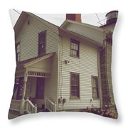 The Lighthouse Museum Throw Pillow
