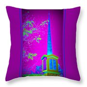 The Lights On Throw Pillow
