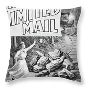 The Limited Mail, 1899 Throw Pillow