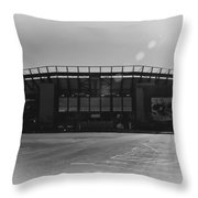The Linc In Black And White Throw Pillow