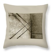 The Lines No. 60 Throw Pillow