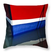 The Lines Of Miss Pattie  Throw Pillow