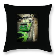 The Lineup Business Throw Pillow
