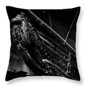 The Lion. Wasa-museum. Stockholm 2014 Throw Pillow