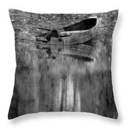 The Little Boat Photoart Throw Pillow