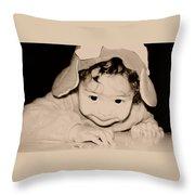 The Little Gremlin Throw Pillow