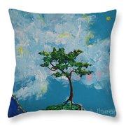 The Little Grove - Little Tree Throw Pillow