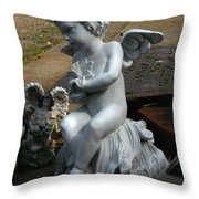 The Little Ones Throw Pillow