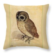 The Little Owl 1508 Throw Pillow