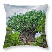 The Living Tree Walt Disney World Throw Pillow