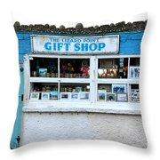 The Lizard Point Gift Shop  Throw Pillow