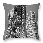 The Lloyd's Building - London Throw Pillow