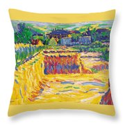 The Loam Pit Throw Pillow