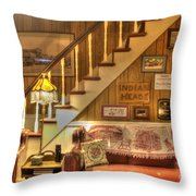 The Lobby Throw Pillow