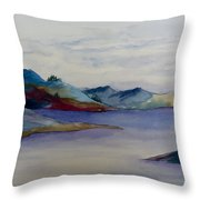 The Loch Throw Pillow