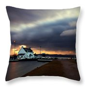 The Lock Keeper's House Throw Pillow