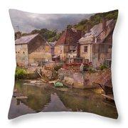 The Loir River Throw Pillow