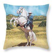 The Lone Ranger Throw Pillow